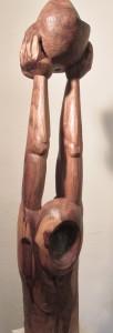 Le Porteur  Orme (130 x 26 x 22)
